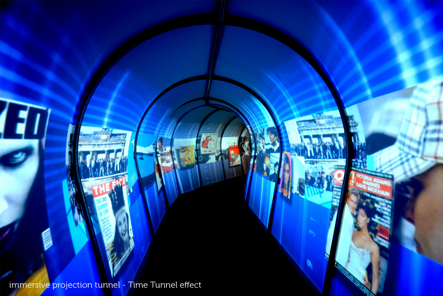 Projection Tunnel, awards, gala, dinner, production, event, award, tunnel