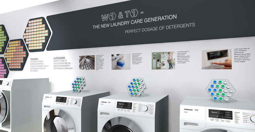 Miele, Washing Machines, Exhibtion, Product, Launch, Experience,